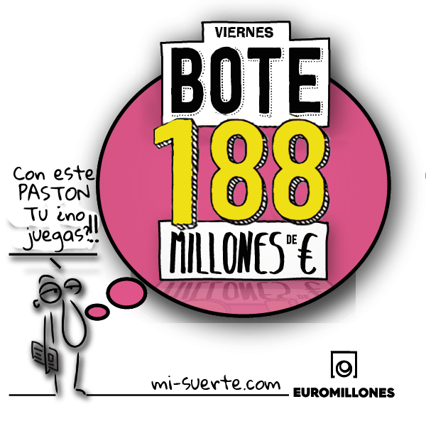 euromillones_bote 188 millones viernes