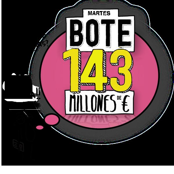 euromillones_bote 143 millones martes 7 Julio